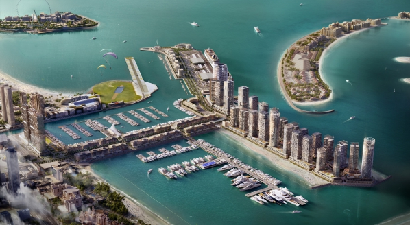 Image forDubai Harbour Marina has welcomed their first boats