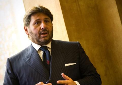 Lamberto Tacoli, president of Nautica Italiana and CEO of CRN (photos courtesy of Justin Ratcliffe)