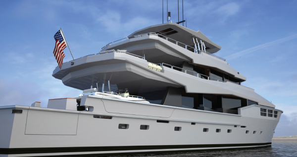 Image for article Bill Prince Yacht Design unveils Expedition concept at FLIBS