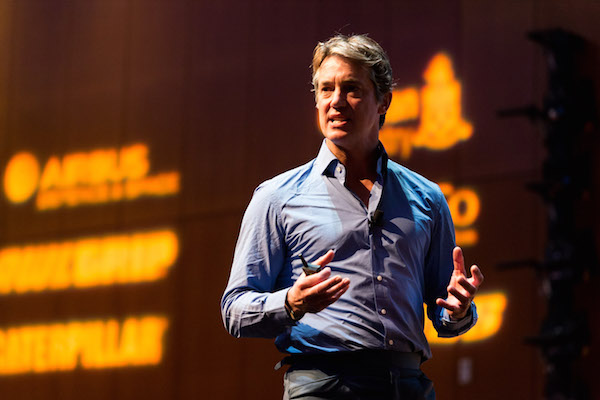 Image for article Explorer, entrepreneur and philanthropist Justin Packshaw closes GSF with an inspirational keynote session