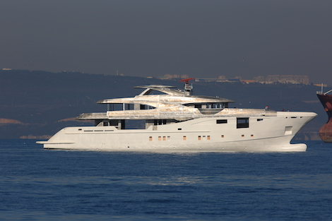 Image for article Bilgin Yachts completes technical launch of 48m superyacht