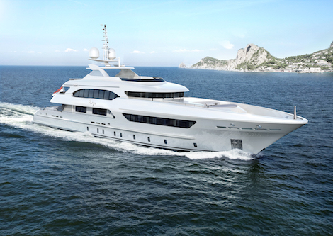 Image for article Heesen Project Ruya enters outfitting stage