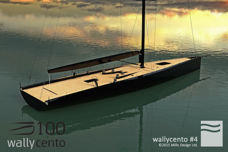 Image for article Wally signs fourth wallycento sailing yacht