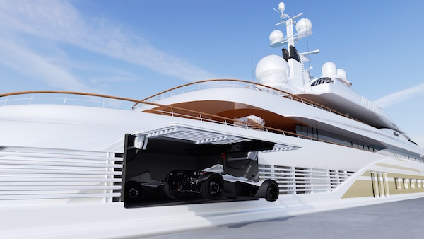 Image for article The superyacht supercar