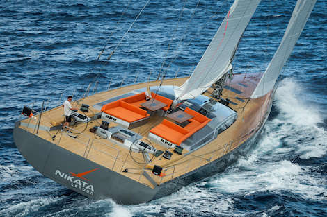 Image for article Baltic 115 excels on maiden voyage