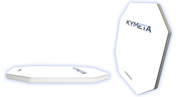 Image for article Kymeta completes flat panel prototype
