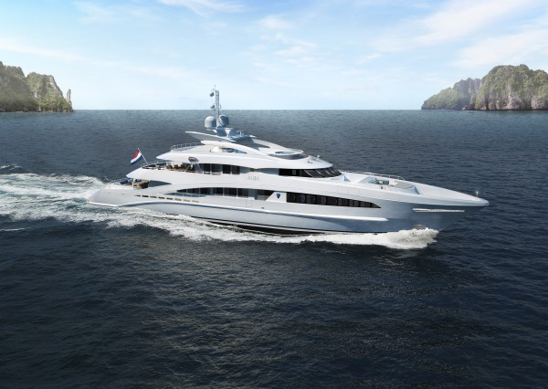 Image for article Heesen's 50m Project Alba sold
