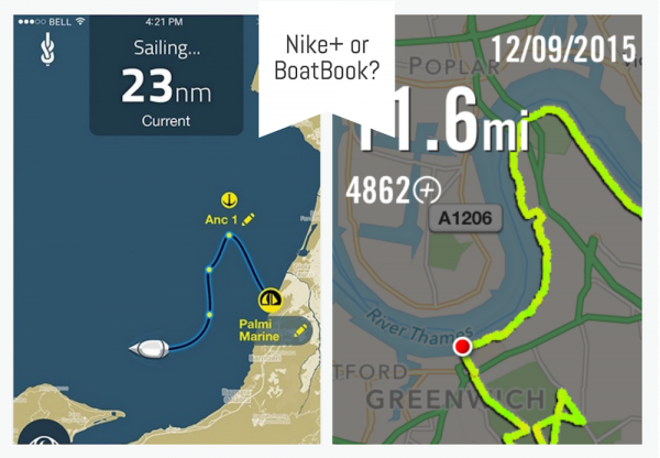 Image for article The running app for yacht crew