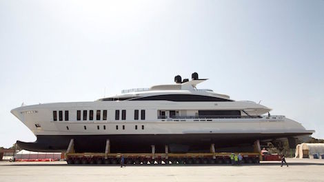 Image for article Alia Yacht Builders has announced the launch of 60m 'Samurai'