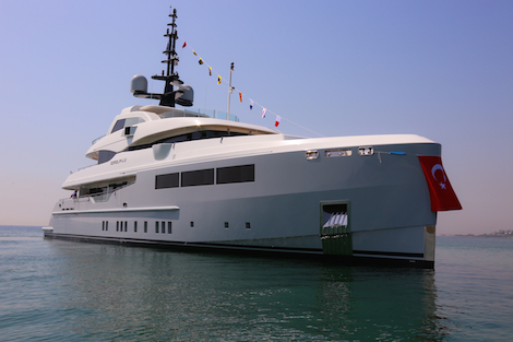 Image for article Bilgin Yachts launches its first yacht of 2016