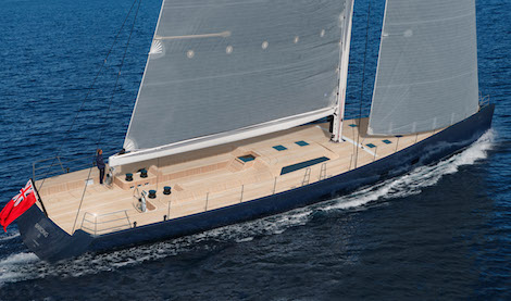 Image for article Wally launches new 33.5m sailing yacht