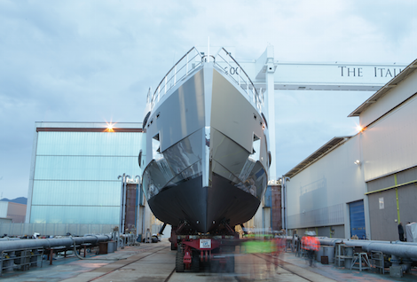 Image for article Admiral launches third yacht of the year