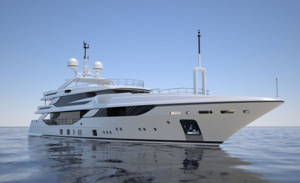 Image for article Benetti announces the sale of 50m superyacht 'Breeze'