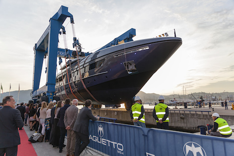 Image for article Baglietto's 46m Fast superyacht launched