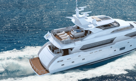 Image for article New Horizon RP120 Superyacht to Debut at 2016 Taiwan International Boat Show
