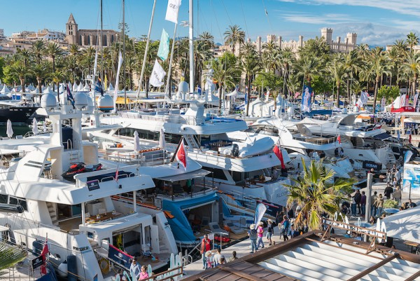 Image for article Reflections on the Palma Yacht Show