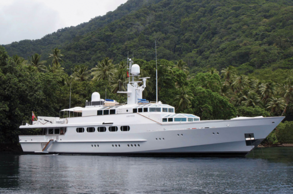 Image for article Iconic 46.6m Feadship, Lionwind, sold
