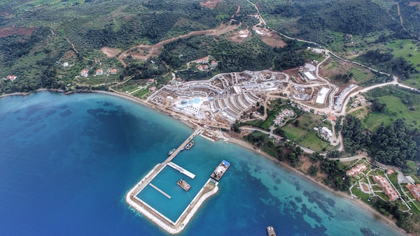 Image for article New marina opens in Halkidiki