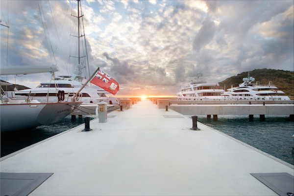 Image for article Record superyacht traffic in St Kitts