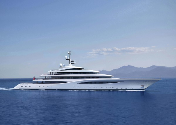 Image for article Project Vertigo, the 96.6m Feadship new build, listed for sale