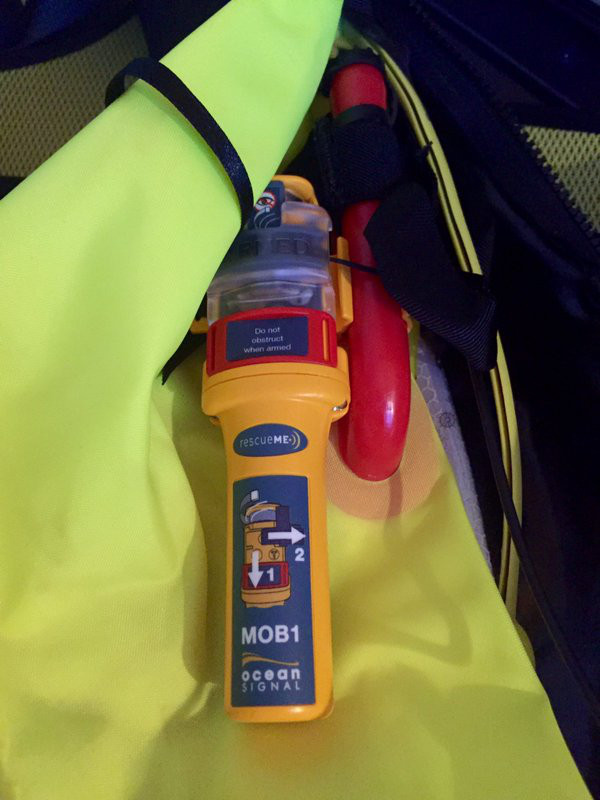 Image for article Owner review: Ocean Signal rescueME MOB1