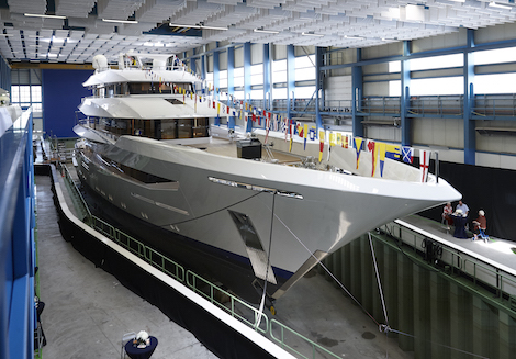 Image for article Feadship launches 70m 'Joy'