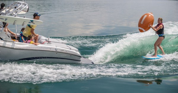 Image for article Wake surfing: the new superyacht sport