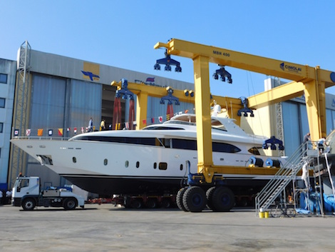Image for article Maiora launches 32.1m superyacht