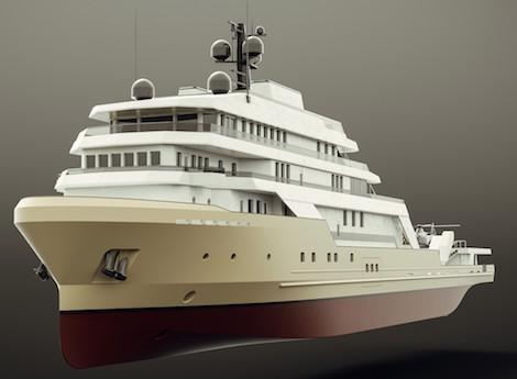 Image for article 91m superyacht conversion update