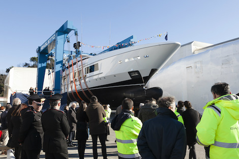 Image for article Baglietto launches new 54m superyacht