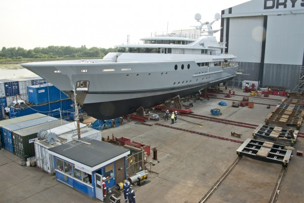 Image for article 'Lady A' completes refit