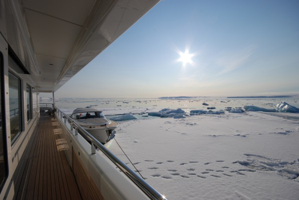 Image for article Kamalaya sails to the polar regions