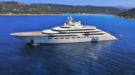 Image for article Lürssen confirms the delivery of 156m Dilbar