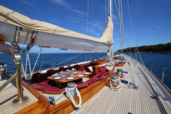 Image for article Ketch sailing yacht, Alejandra, listed for sale with Y.CO