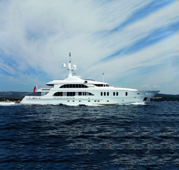 Image for article 49.5m Sensation sold and 52m Deja Too listed for sale at Fraser Yachts