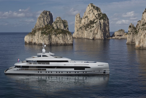 Image for article Heesen Yachts announces sale of Project Nova