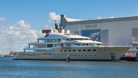 Image for article Amels launches 83m flagship M/Y 'Here Comes the Sun'