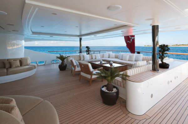 Image for article Benetti's 60m Swan for sale with Denison Super Yachts