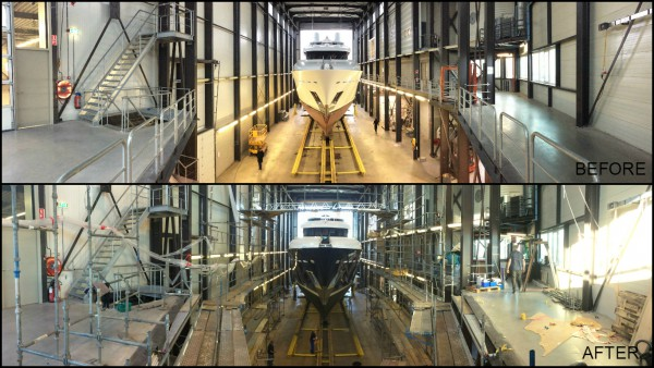 Image for article Plenty of refit work at Balk Shipyard