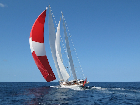 Image for article Huisfit completes the refit of 'Adèle'