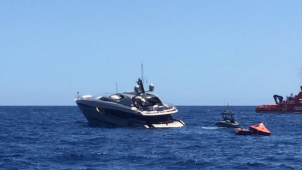 Image for article Superyacht 'Fusion' sinks off Ibiza