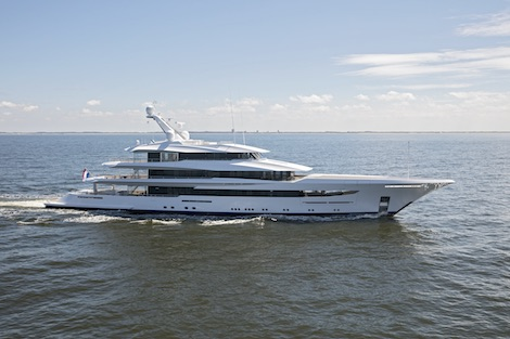 Image for article Feadship delivers 70m 'Joy'