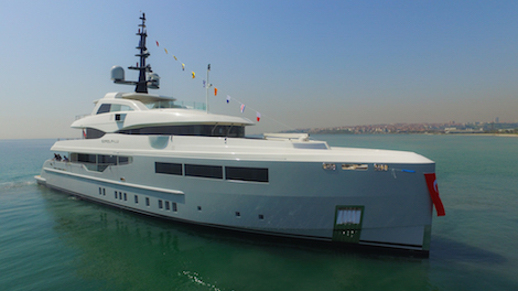 Image for article Bilgin Yachts delivers 46.8m Giaola-Lu