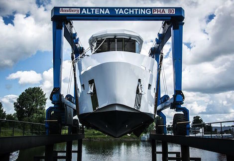 Image for article Lynx yachts unveils 20m YXT support vessel