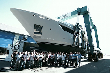 Image for article Custom Line launches the first Navetta 37
