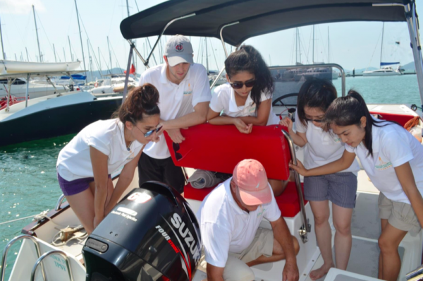 Image for article Asia upping its training game for superyacht crew