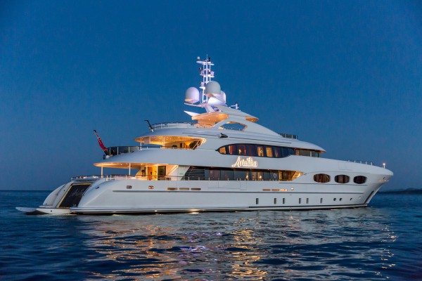 Image for article Heesen's 47m 'Ariadna' for sale with Imperial Yachts