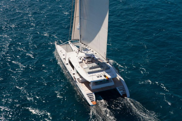 Image for article One of the world's largest multihulls listed for sale