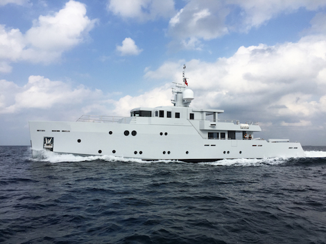 Image for article Tansu Yachts launches 'Sexy Fish'