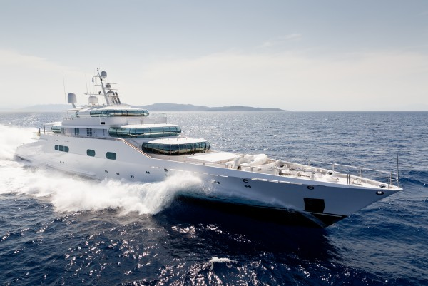 Image for article Blohm+Voss' iconic 75m 'Enigma' listed for sale